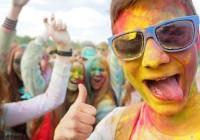 В Смоленске прошел фестиваль красок
