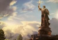 На смоленской набережной начали устанавливать памятник князю Владимиру