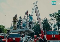 Смоленские спасатели устроили праздник для детей