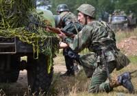 Смолянам представили реконструкцию первого партизанского боя на Смоленщине