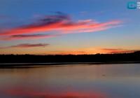 Природоведение. Закат на Баклановском озере