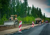 В Смоленской области начали ремонтировать въезд в Десногорск