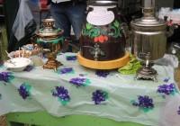 Жители деревни Николо-Погорелое собрались за общим самоваром