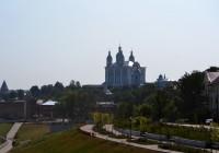 10 августа. Утро в Смоленске: жара не отступает
