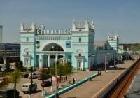 10 сентября. Утро в Смоленске: движение трамваев на железнодорожный вокзал закрыто