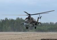 Вертолет Ми-24 совершил аварийную посадку в Смоленской области