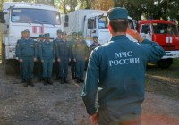 Смоленские спасатели поблагодарили тульских коллег