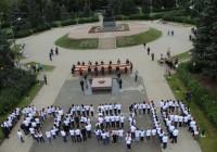 В Смоленской области прошел «победный» флешмоб
