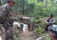 В Смоленской области восстановили первую партизанскую землянку