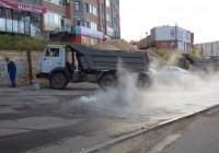 Ремонтно-восстановительные работы на улице 25 Сентября завершены
