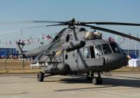 Мирное небо Смоленской области будут охранять вертолёты Ми-8МТВ5