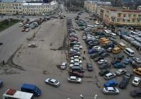Ремонтные работы на месте аварии в районе Колхозной площади продолжаются