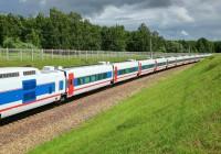 Скоростной поезд «Стриж» начнёт ходить через Смоленск с 1 июня