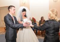 В Смоленске поздравили юбилейную пару