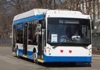 Инновационный троллейбус будет ходить до Колхозной площади