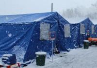 В шести районах Смоленской области продолжают работать пункты обогрева для водителей