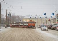 В Смоленске продолжается борьба со снегом