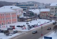 В Смоленске на Колхозной площади оборудовали платную парковку