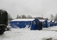 В Смоленской области оборудован дополнительный пункт обогрева