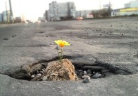 Из-за плохой погоды ремонт дорог в Смоленске приостановлен