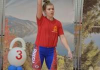 Смоленская спортсменка возглавила первенство России по гиревому спорту