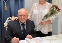 Супружеская пара из Смоленска отметила «фарфоровую» свадьбу