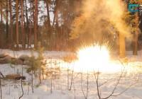 В Смоленском Поозерье прошла реконструкция партизанского боя