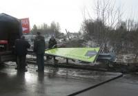 В Смоленске демонтировали ещё несколько самовольно размещённых рекламных конструкций