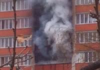 В Смоленске пожар на улице Рыленкова