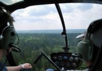 Смоленские спасатели начали использовать вертолёт для выявления пожаров