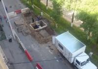 На улице Твардовского закрыто движение