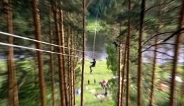 В Смоленском Поозерье появился веревочный парк