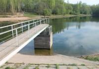 Реадовское озеро обмелело