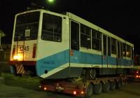 Первый московский трамвай прибыл в Смоленск