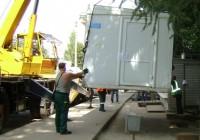 В Смоленске демонтируют ларек с шаурмой