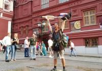 Путешествие из Петербурга в Москву на самокате