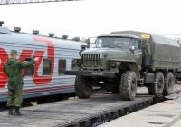 В Ельню перебрасывается военная техника для новой дивизии