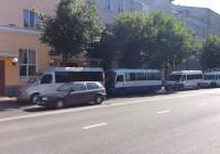 Смоленские маршрутчики попытались провести несанкционированный митинг