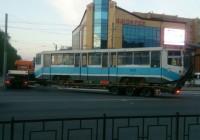 Ещё три трамвая из Москвы прибыли в Смоленск