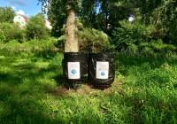 В Вязьме проблему мусора решают с помощью «Народных урн»