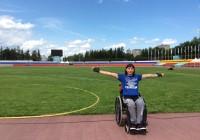 Елена Горлова привезла медали со всероссийских соревнований по паралимпийским видам спорта