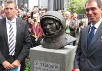 Памятник Юрию Гагарину торжественно открыли в Дании