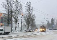Первый снег обернулся транспортным коллапсом в Смоленске