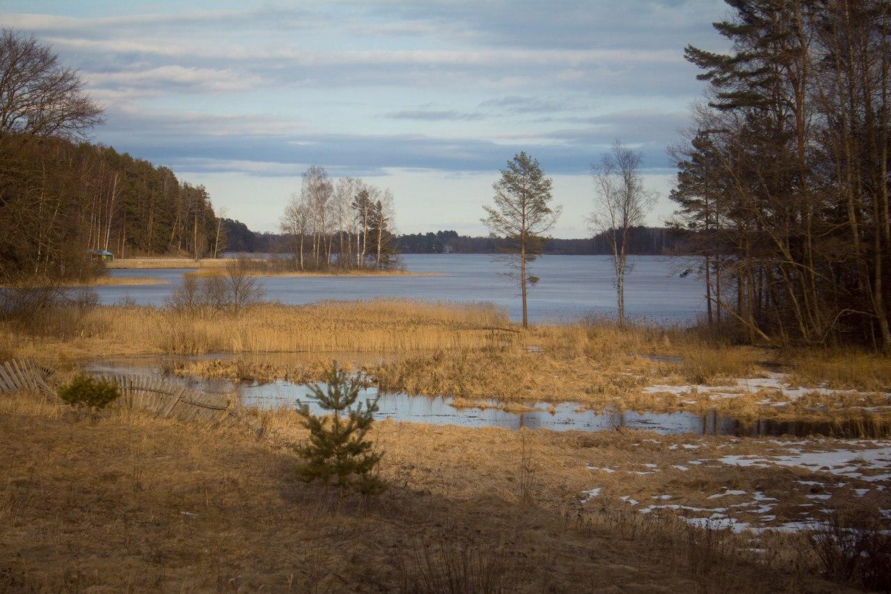 Холодной осенью в заброшенном парке фото 147-523