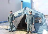 Пункты обогрева смоленского ГУ МЧС проверили в преддверии зимы