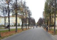 В Смоленске отремонтировали улицу Октябрьской революции