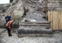 Археологи нашли в Киеве древнюю дорогу на Смоленск
