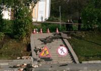 Ведется ремонт теплосети на улице Большой Советской