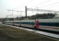 Поезд «Стриж» побывал в Смоленске во время испытаний перед регулярным запуском