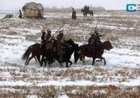 Русская и французская армии снова встретились под Красным